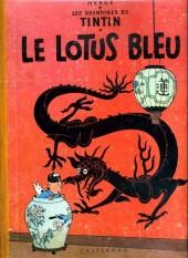 Tintin (Historique) -5B22bis- Le lotus bleu