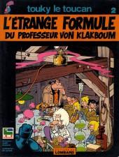 Touky le toucan -2- L'étrange formule du Professeur von Klakboum