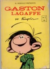Gaston Lagaffe (Éditions Héritage) -1- Gaston Lagaffe