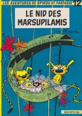 Spirou et Fantasio -12d77- Le nid des Marsupilamis