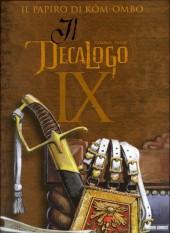Decalogo (Il) -9- Il papiro di Kôm-Ombo