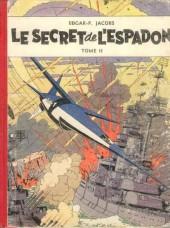 Blake et Mortimer (Historique) -2a54- Le Secret de l'Espadon - Tome II