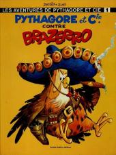 Pythagore et Cie (Les Aventures de) -1- Pythagore et Cie. contre Brazerro