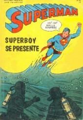 Superman l'homme d'acier puis Superman et Batman (1re Série Interpresse) -3- Superboy se présente