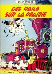 Lucky Luke -9b83- Des rails sur la prairie