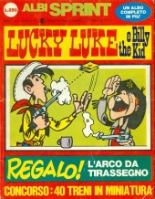 Albi sprint -2- Lucky luke e billy the kid