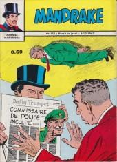Mandrake (1re Série - Remparts) (Mondes Mystérieux - 1) -132- Le procès du commissaire