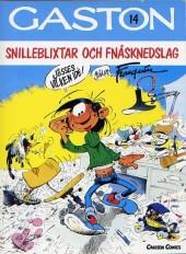 Gaston (en suédois) -14- Snilleblixtar och fnasknedslag