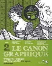 Le canon graphique -2- D'Orgueil et préjugés aux Fleurs du Mal (XIXe siècle)