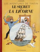 Tintin (Historique) -11B01 rouge- Le secret de la Licorne