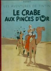Tintin (Historique) -9B09- Le crabe aux pinces d'or