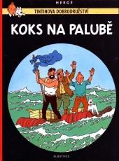 Tintin (en langues étrangères) -19Tchèque- Koks na palubě
