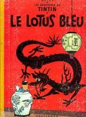 Tintin (Historique) -5B20bis- Le Lotus bleu