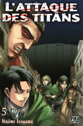 L'attaque des Titans -5- Tome 5