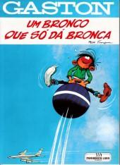 Gaston (en portugais) -7- Um bronco que so da bronca