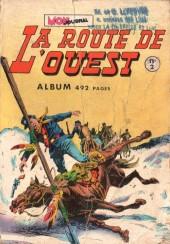 La route de l'Ouest -Rec02- Album n°2 (du n°4 au n°6)