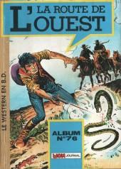 La route de l'Ouest -Rec76- Album n°76 (n°161/n°182/n°183)