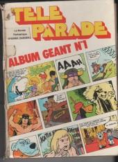 Télé parade -Rec01- Album Géant N°1 (du n°4 au n°20)