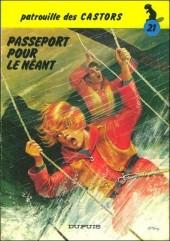 La patrouille des Castors -21a83- Passeport pour le néant