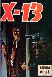 X-13 agent secret -Rec77- Album relié N°77 (du n°440 au n°442)