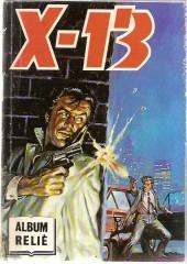 X-13 agent secret -Rec78- Album relié N°78 (n°428, 430, 432 et 434)
