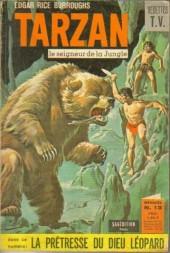 Tarzan (2e Série - Sagédition) (Vedettes T.V.) -13- La prêtresse du Dieu-léopard
