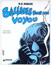 Ballades pour un voyou - Tome 1a