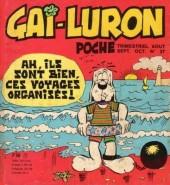 Gai-Luron (Poche) -27- Ah, ils sont bien ces voyages organisés