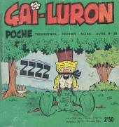 Gai-Luron (Poche) -29- La BD chronologique