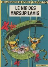 Spirou et Fantasio -12a67- Le nid des Marsupilamis