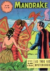 Mandrake (1re Série - Remparts) (Mondes Mystérieux - 1) -10- Les trois îles mystérieuses