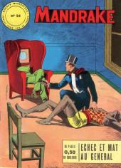 Mandrake (1re Série - Remparts) (Mondes Mystérieux - 1) -24- Echec et mat au général