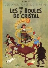 Tintin (Historique) -13B03 Zéro- Les 7 boules de cristal