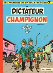 Spirou et Fantasio -7e80- Le dictateur et le champignon