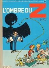 Spirou et Fantasio -16d80- L'ombre du Z