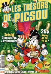 Picsou Magazine Hors-Série -25- Les trésors de Picsou - Spécial dinosaures et préhistoire