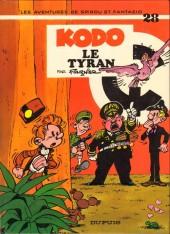 Spirou et Fantasio -28a1980- Kodo le tyran