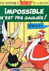 Astérix (Publicitaire) -Ecco- Impossible n'est pas gaulois !