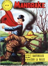 Mandrake (1re Série - Remparts) (Mondes Mystérieux - 1) -31- Sauterelles sur la vallée