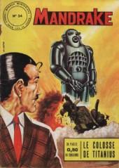 Mandrake (1e Série - Remparts) (Mondes Mystérieux - 1) -34- Le colosse de titanius