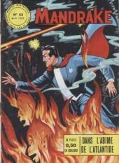 Mandrake (1re Série - Remparts) (Mondes Mystérieux - 1) -55- Dans l'abîme de l'atlantide