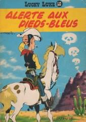 Lucky Luke -10'- Alerte aux Pieds-Bleus