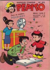 Pepito (1re Série - SAGE) -202- La Cacahuète dans la verdure