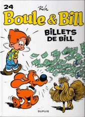 Boule et Bill -02- (Édition actuelle) -24Ind2014- Billets de Bill