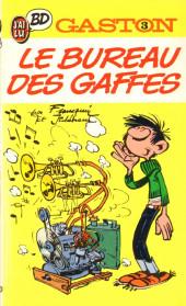 Gaston (Poche) -3- Le Bureau des gaffes