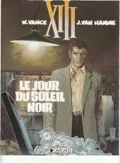 XIII -1a1992- Le jour du soleil noir