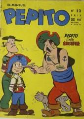 Pepito (1re Série - SAGE) -12- Pepito contre Brisefer
