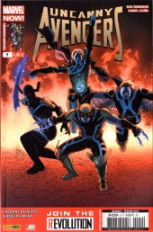 Couverture de Uncanny Avengers (1re série) -9- Le Grand Jeu