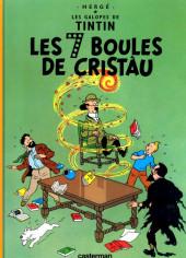 Tintin (en langues régionales) -13Charentais- Les 7 Boules de cristàu