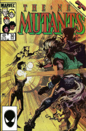 New Mutants (The) (1983) -30- The Singer & Her Song